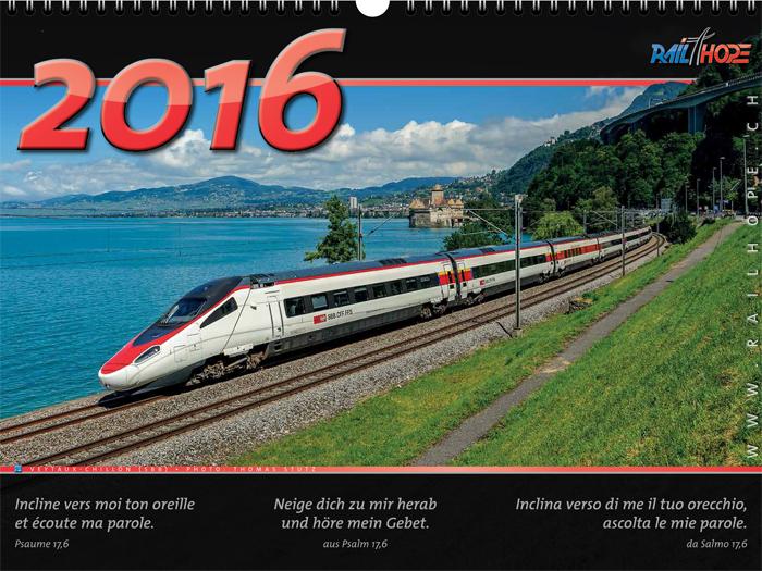 Kalender 2016 Titelblatt