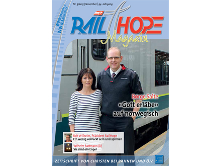 RailHope Magazin 03/2015 Deutsch